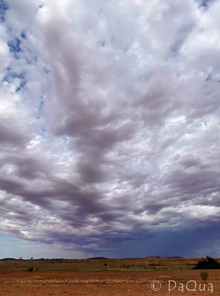 Stormy sky from Alice to Coober Pedy © DaQua