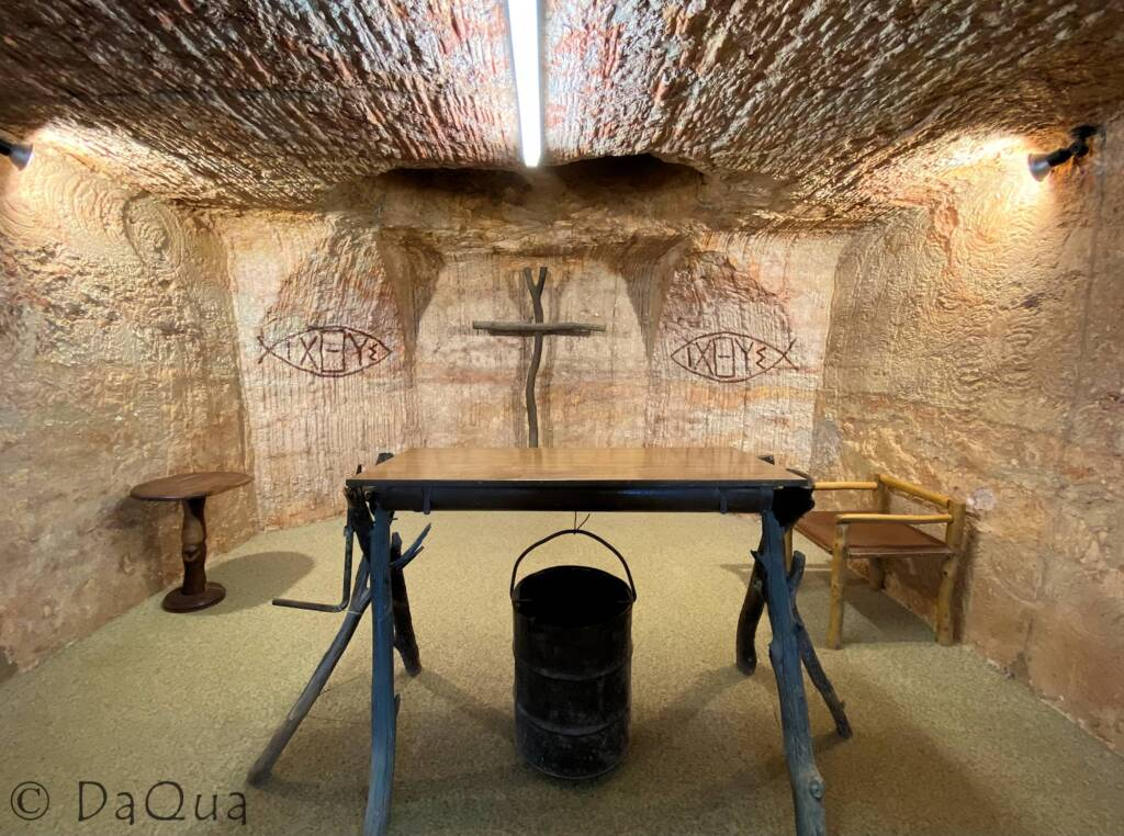 Catacomb Church of Coober Pedy