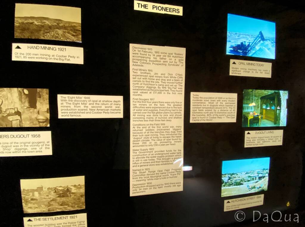 Desert Cave Hotel Exhibition, Coober Pedy