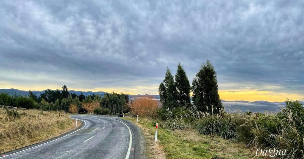 Off the main highway, Waitati region, New Zealand