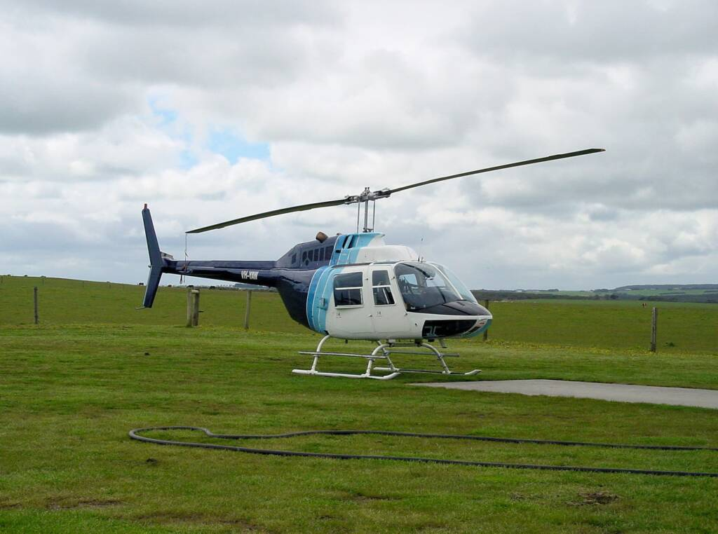 Helicopter tour over the Great Ocean Road, VIC