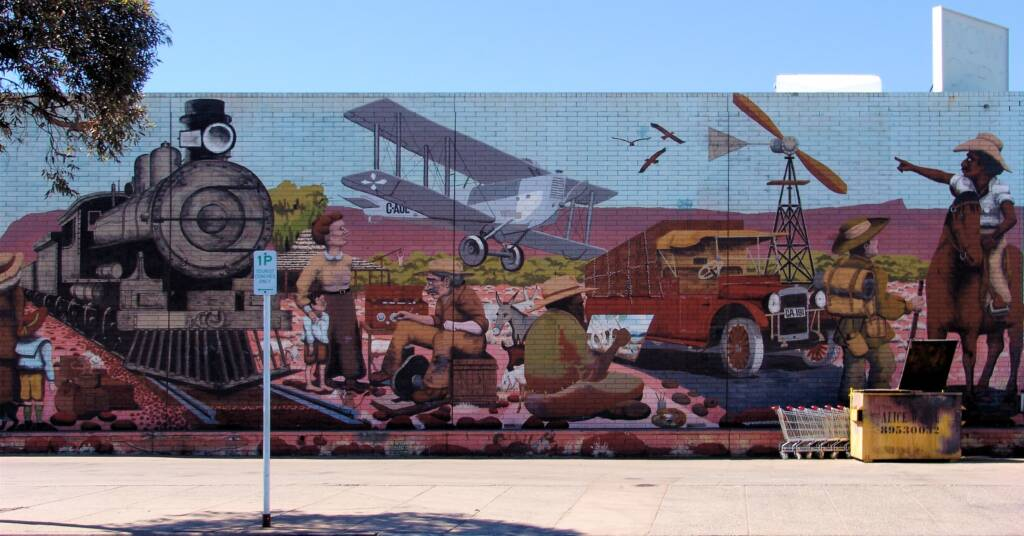 Alice Springs Street Art