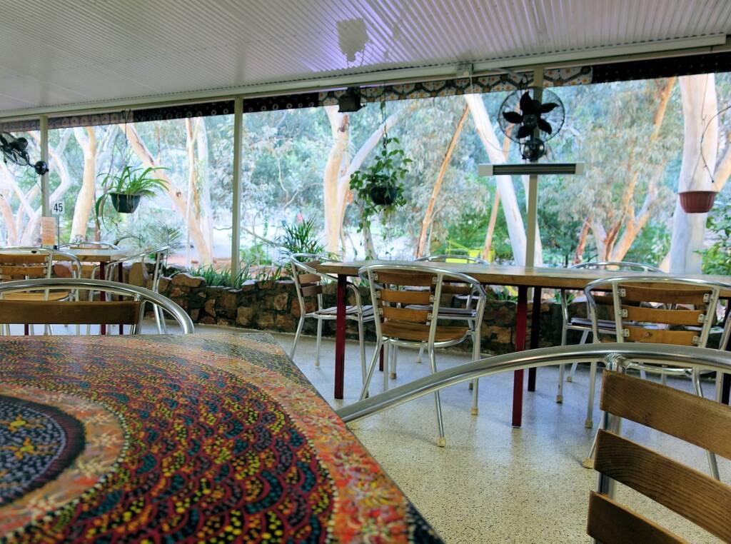 Cafe at Angkerle Atwatye (Standley Chasm), NT