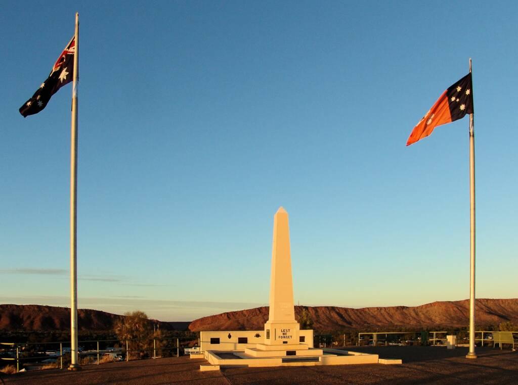 ANZAC Hill War Memorial, Alice Springs, NT