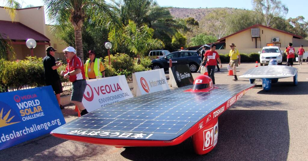 Ashiya University Solar Car Project, World Solar Challenge 2011