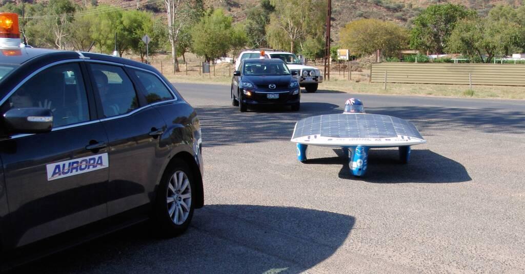 Aurora Vehicle Association - Aurora Evolution - 45 - Australia - World Solar Challenge 2011