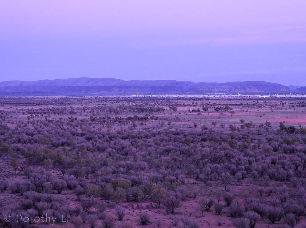 Alice Springs Hot Air Ballooning, Central Australia