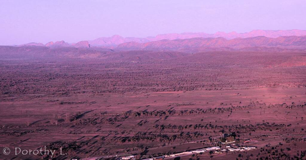Alice Springs Hot Air Ballooning over Central Australia