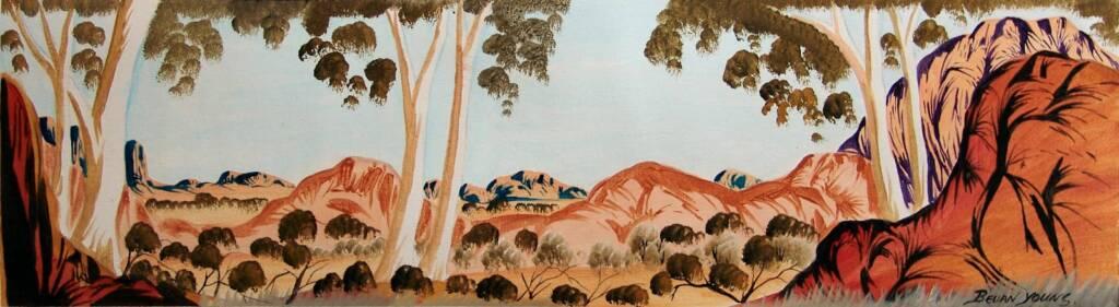 Untitled (Central Australia Landscape) © Bevan Young