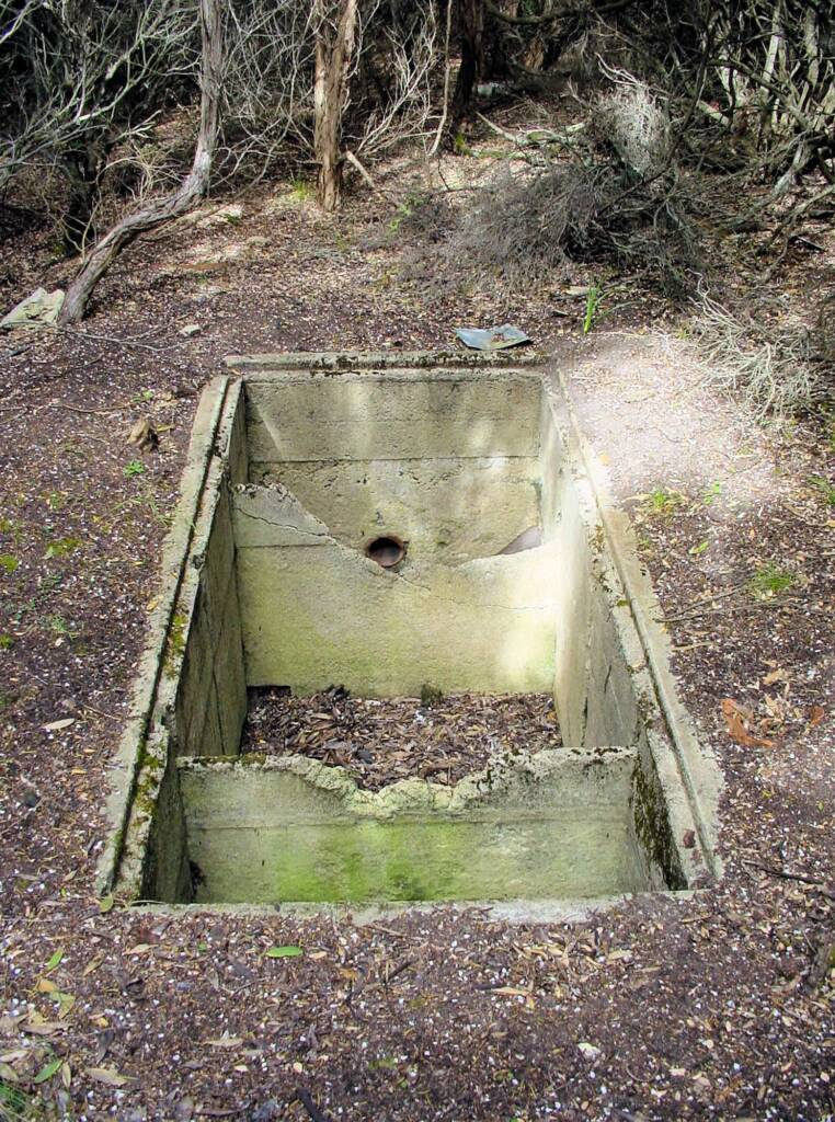 Disused Sewerage Tank 1942 - Cape Otway Lighthouse, Victoria