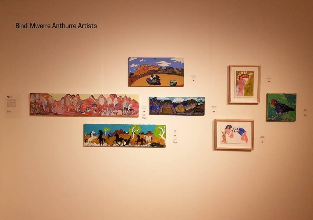 Bindi Mwerre Anthurre Artists, Alice Springs Desert Mob Festival 2020