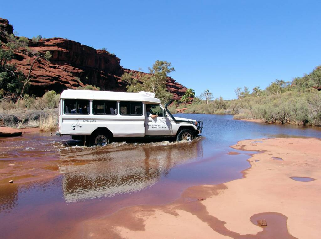Guided tours at Finke Gorge National Park
