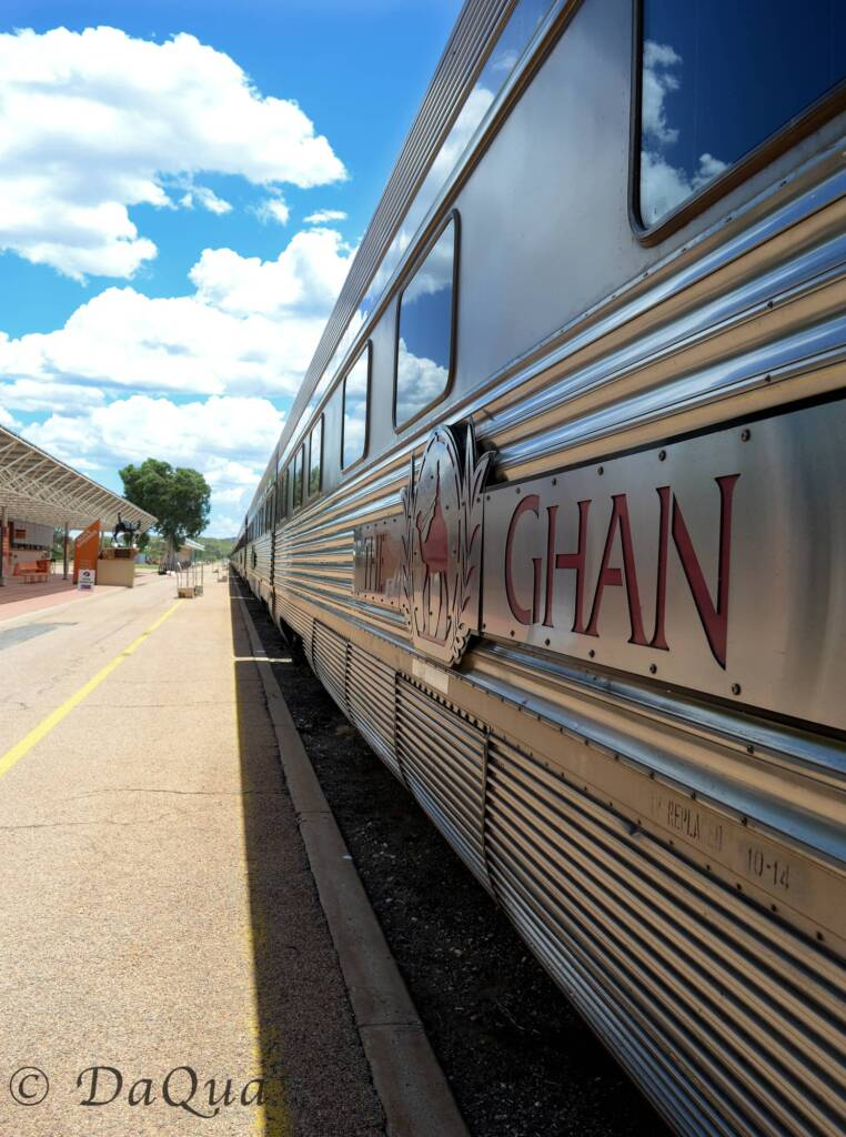 The Ghan, Alice Springs Station, NT