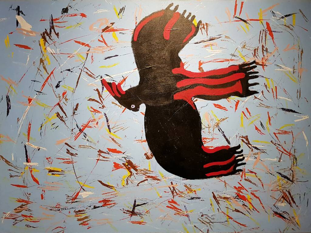 Black Cockatoo, 2020 by Graham Beasley