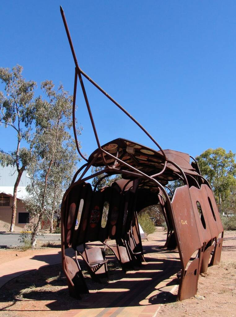 The Yeperenye Sculpture, Araluen Arts Centre