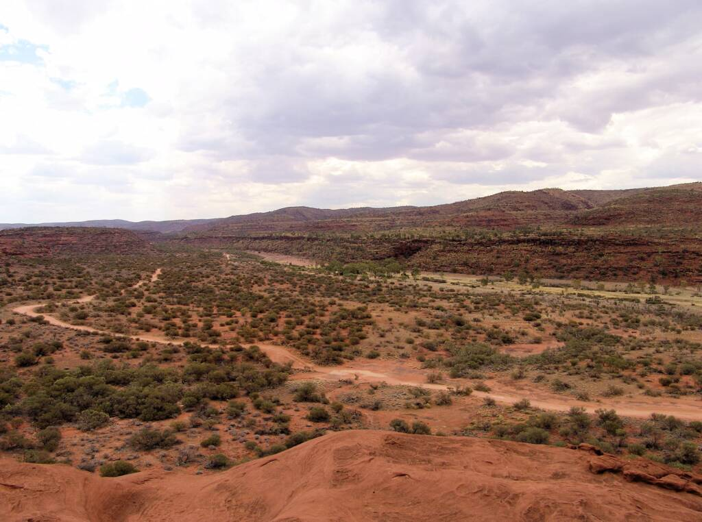 View from the Kalarranga Lookout walk, Finke Gorge National Park