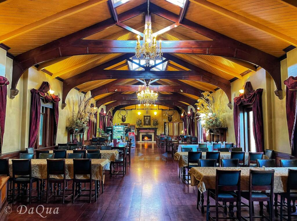 Ballroom Café, Larnach Castle, Dunedin, New Zealand