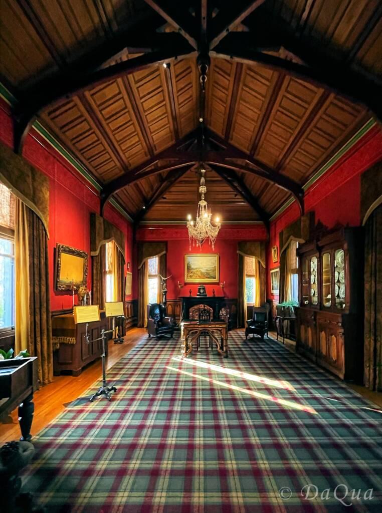 Distinctive Scottish Heritage Design, Larnach Castle, Dunedin, New Zealand