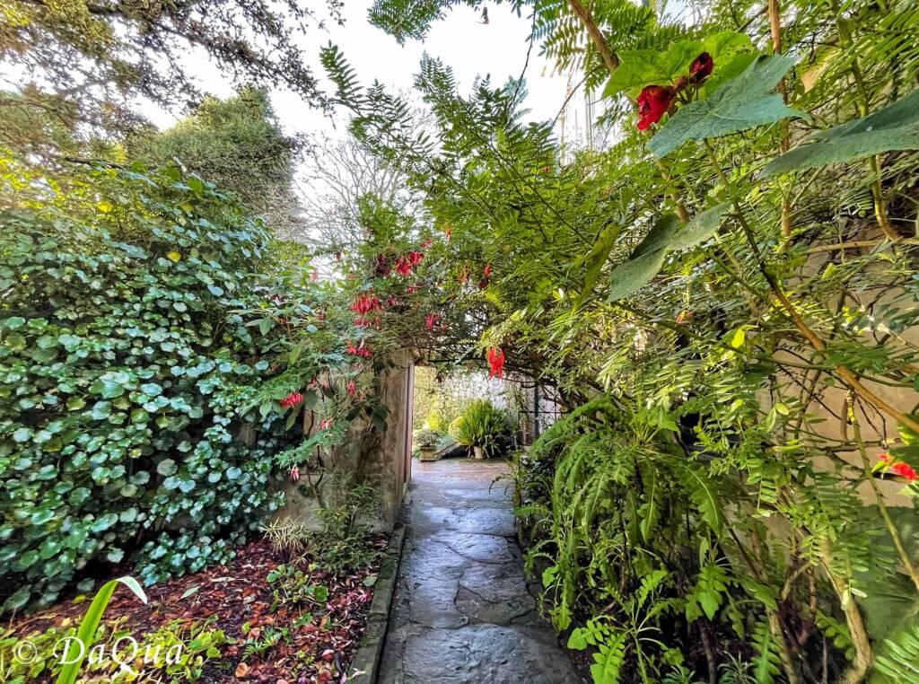 Larnach Castle Gardens, Dunedin, New Zealand