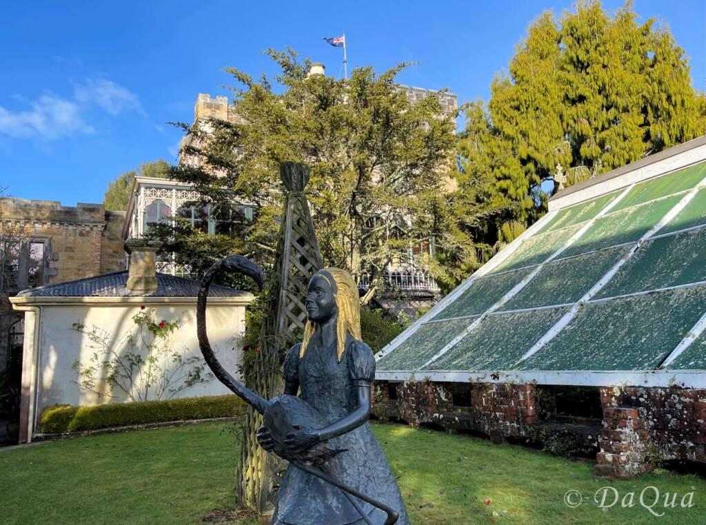 Alice of Wonderland - Larnach Castle Gardens