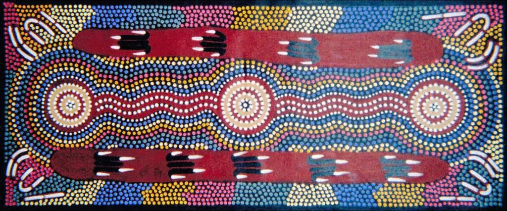 Wallaby Dreaming by Mary Nabarula