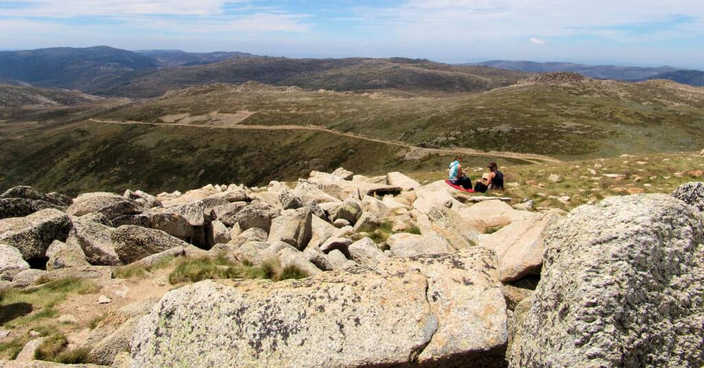 View from Mount Kosciuszko, NSW