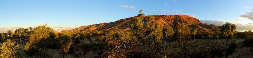 View of Mount Gillen, West MacDonnell Ranges