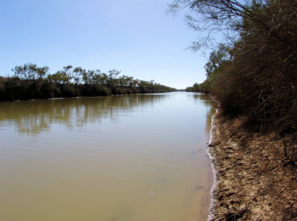 'The Neales' - Neales River and Waterhole
