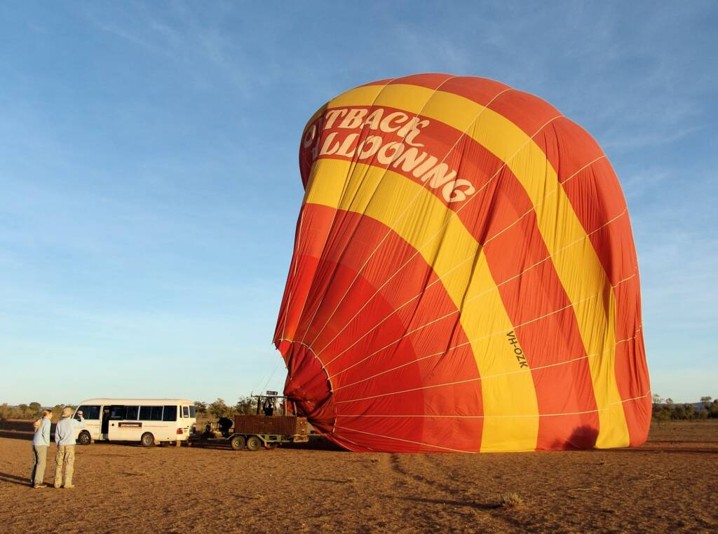 Outback Ballooning, Alice Springs, NT