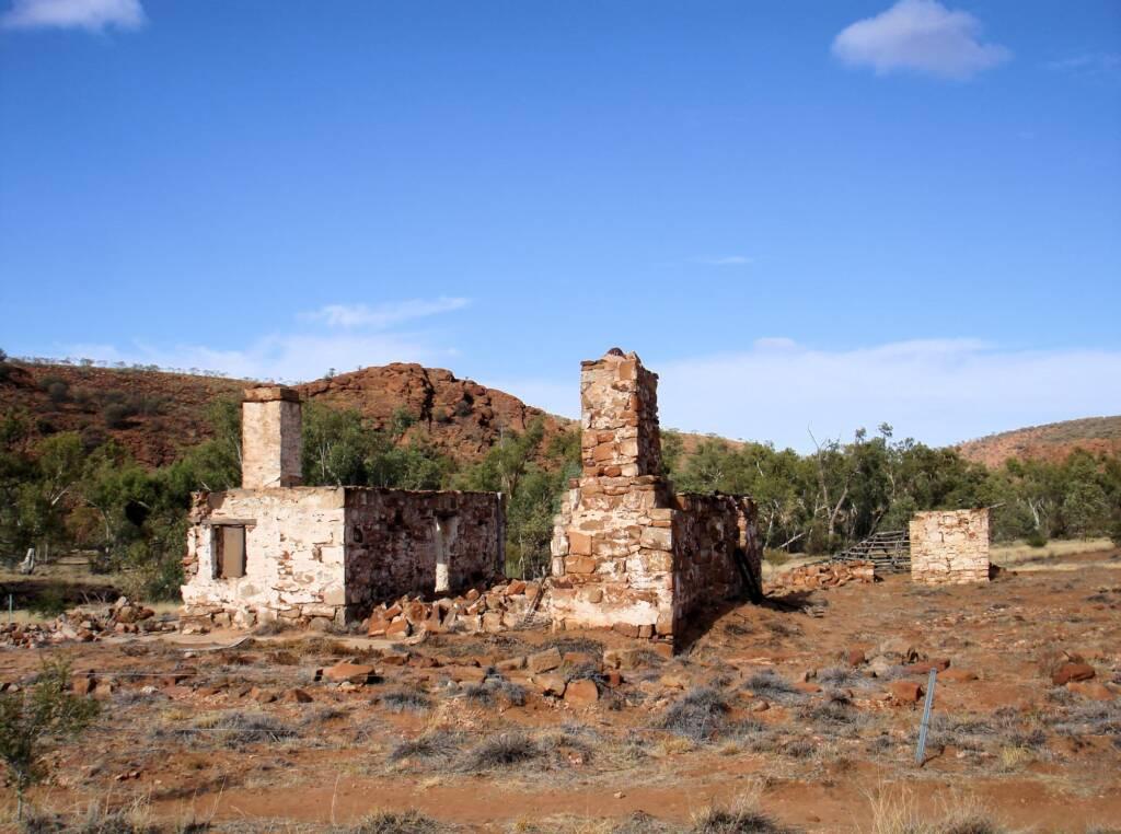 Historic ruins, Owen Springs Reserve, NT
