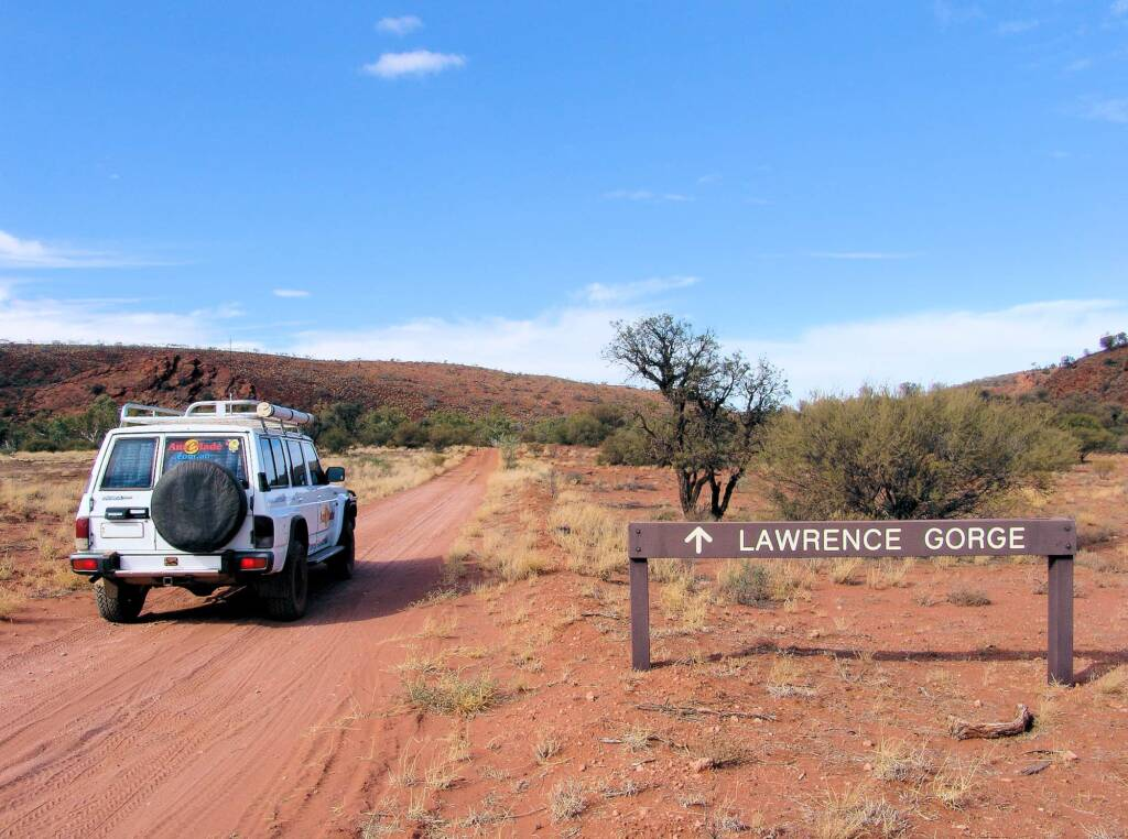 On-route to Lawrence Gorge, Owen Springs Reserve, NT