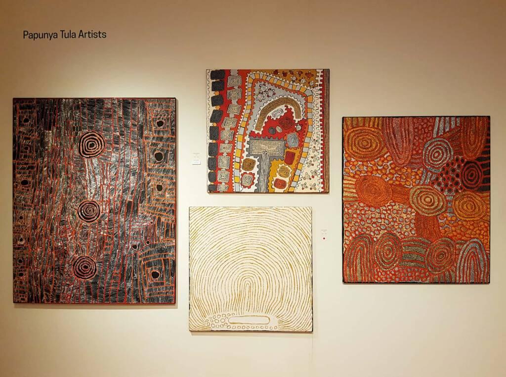 Papunya Tjupi Arts, Alice Springs Desert Mob Festival 2020