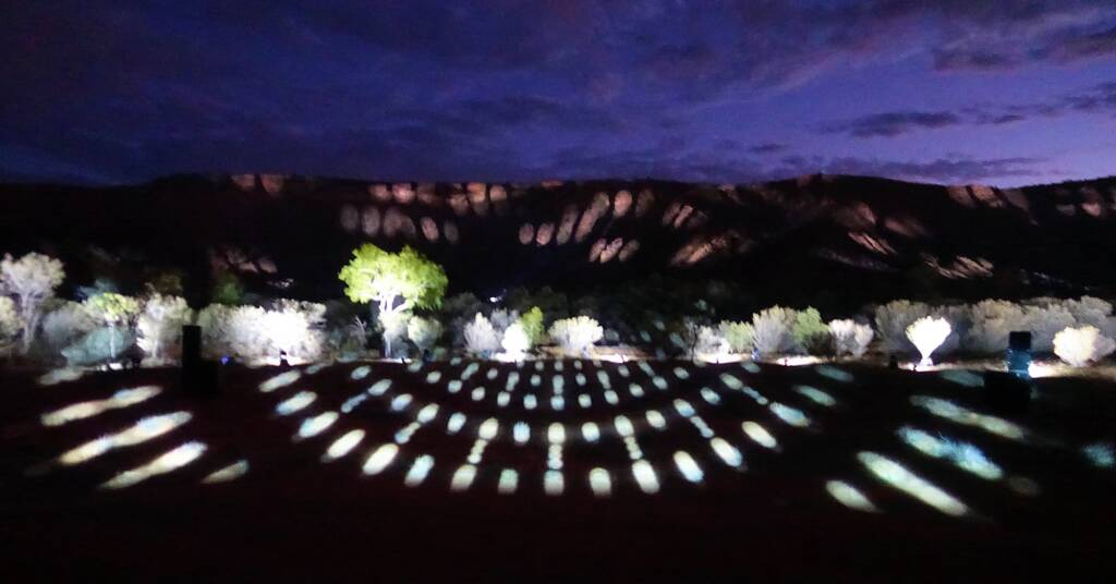 Lifting Our Spirits, 2020 - Parrtjima - A Festival in Light