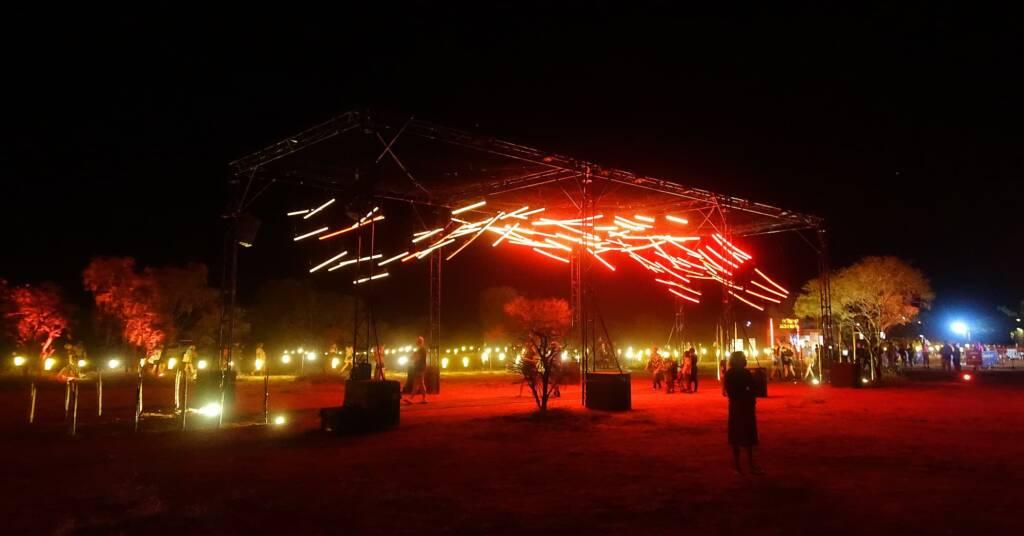Future Kultcha - Landing Kultcha, 2021 - Parrtjima - A Festival in Light