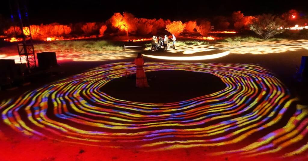 Future Kultcha - Grounded Kultcha, 2021 - Parrtjima - A Festival in Light