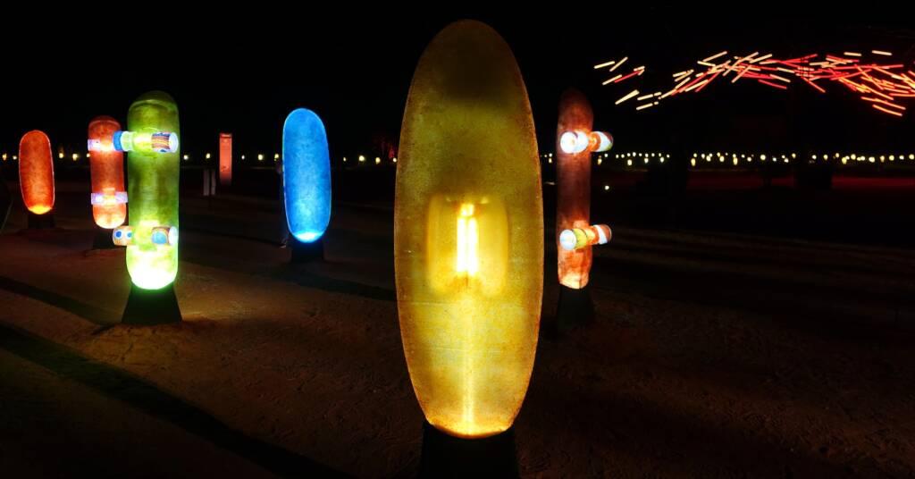 Future Kultcha - Landing Kultcha - Revolving Kultcha, 2021 - Parrtjima - A Festival in Light