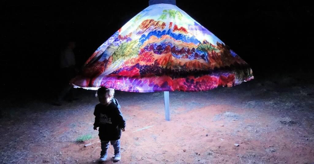 Parrtjima Australia - A Festival in Light, 2016