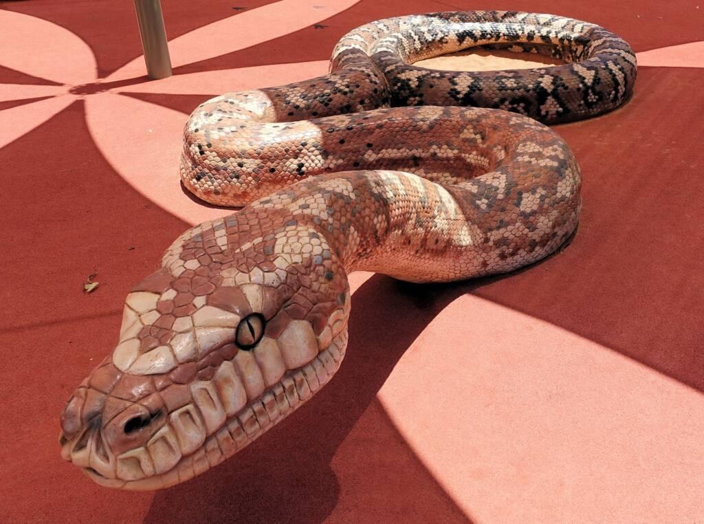 Python - Alice Springs Desert Park children playground