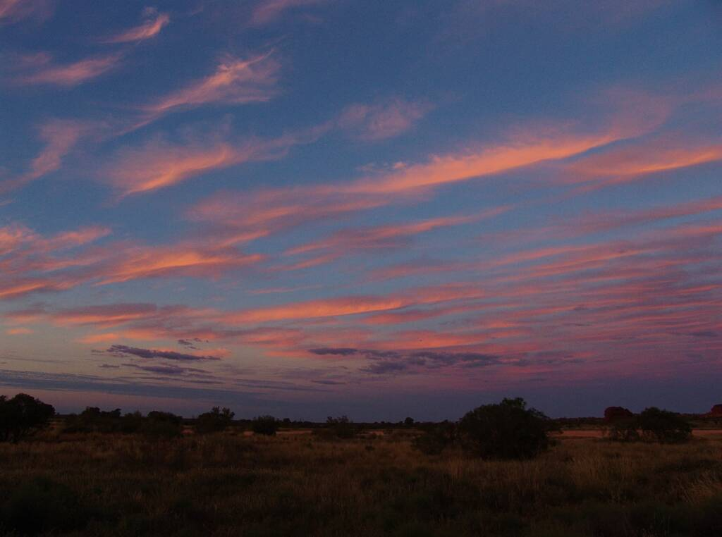 Sunset at Wurre / Rainbow Valley, NT
