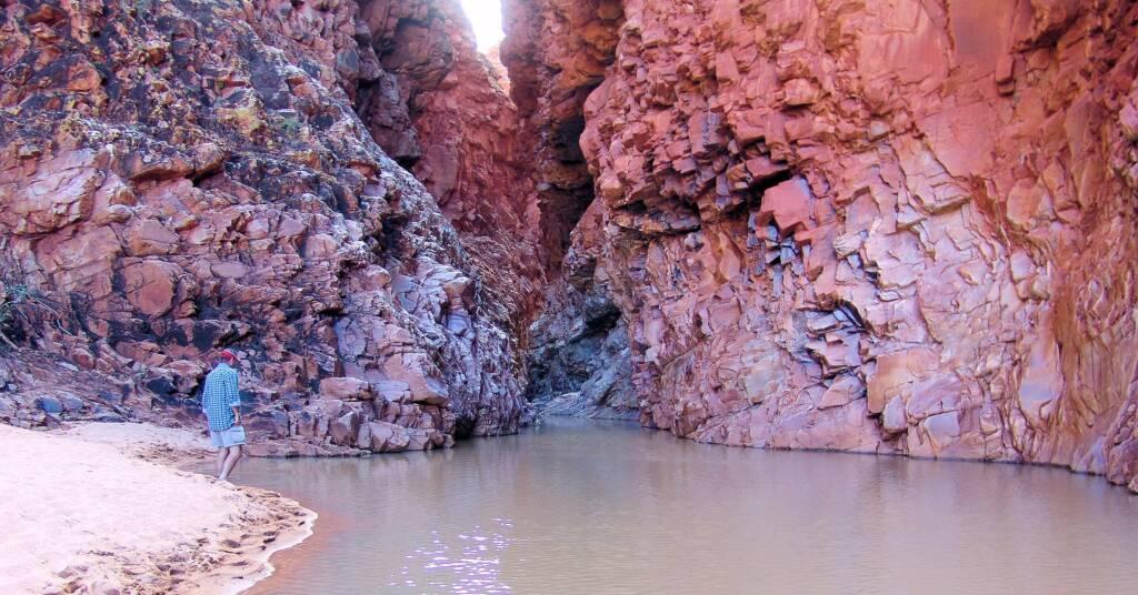 Waterhole at Redbank Gorge