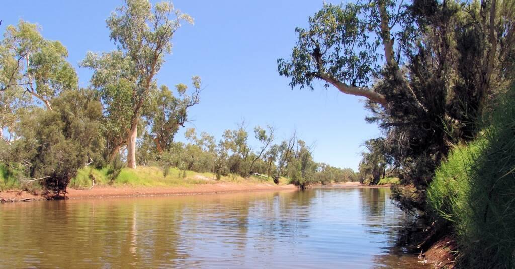 Redbank Waterhole, Owen Springs Reserve, NT