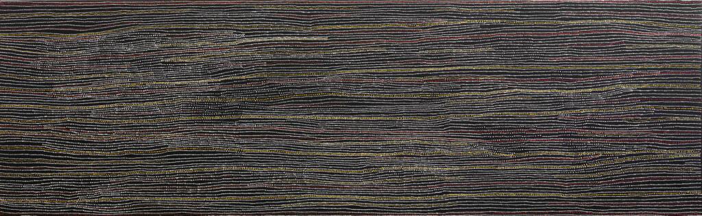 Sandhills at Mina Mina, 2009 (Cat No 11135DN) by Dorothy Napangardi, courtesy Gallery Gondwana