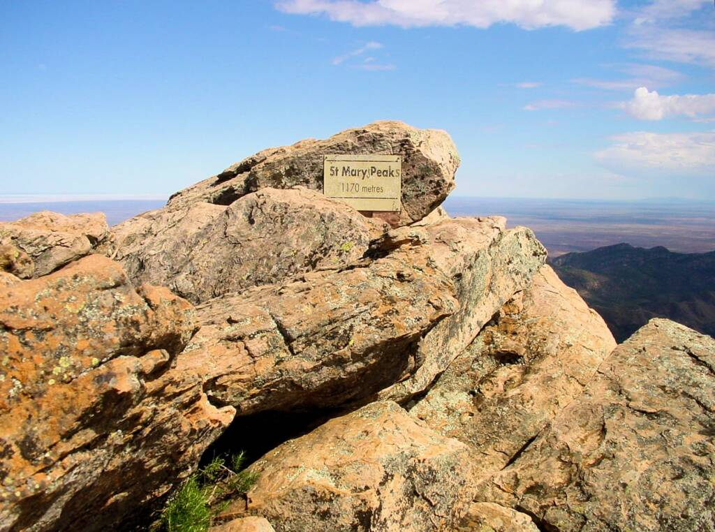 St Mary Peak, Wilpena Pound, SA