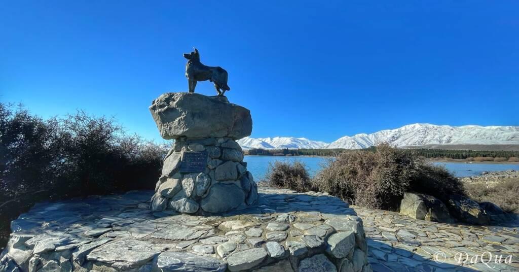 The Sheepdog Memorial, Lake Tekapo, New Zealand by DaQua