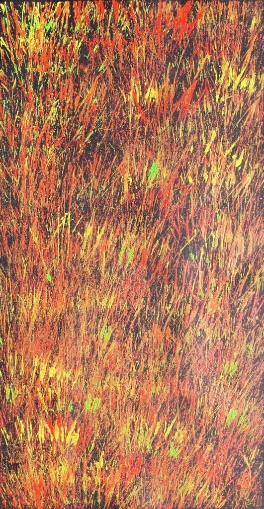 Tjanpi Kampanyi (Burning Grass), 2008 © Trephina Sultan Thanguwa