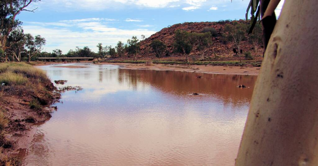 Todd River 2007, Alice Springs, NT