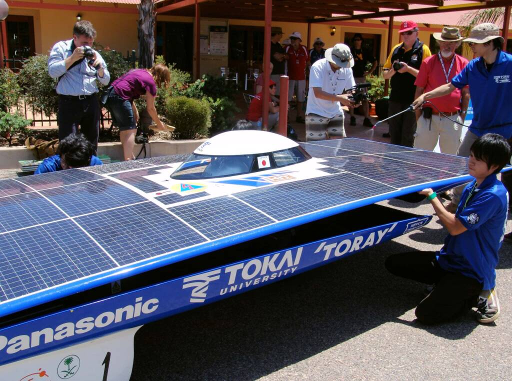 Tokai University - TokaiChallenger2 - 1 - Japan - World Solar Challenge 2011