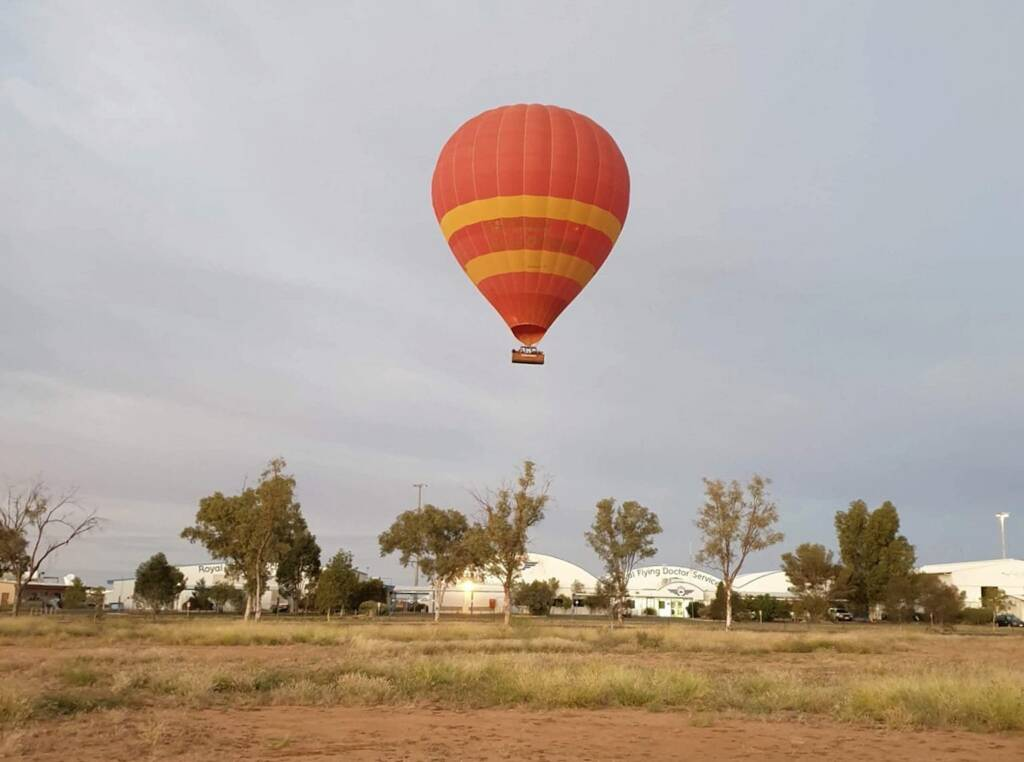 Outback Ballooning, Alice Springs