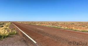 Turn left to leave Coober Pedy and heading south