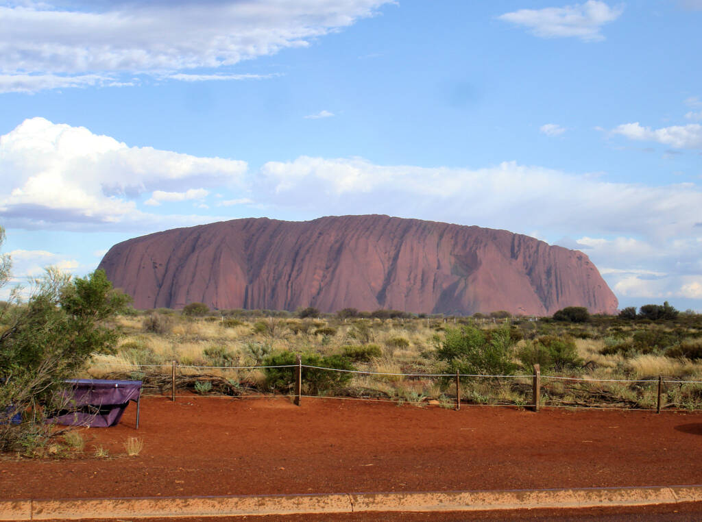 Late afternoon at Uluru